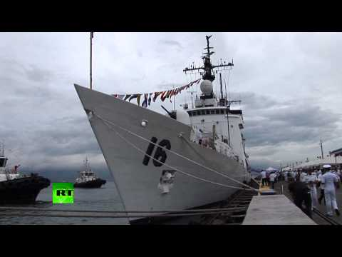 Video: US-bought warship arrives in Philippines amid China territorial dispute
