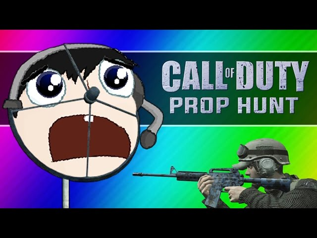Call of Duty 4: Prop Hunt Funny Moments - Nogla's Lover, Boat Pile, Lucky Barrel (CoD4 Mod)