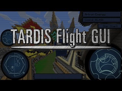 TARDIS Flight GUI - Feature Update - Daily Report 4/5/13 - DWCM