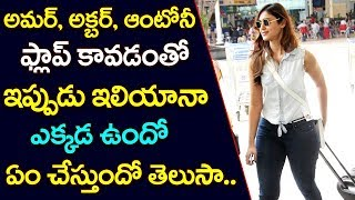 leana D'cruz After Amar Akbar Anthony Movie | Ileana D'cruz Latest upDates | TTM