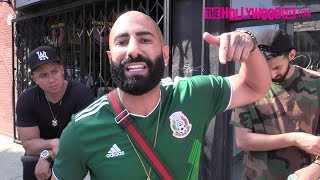 FouseyTUBE Reacts To Keemstar, DJ Akademiks & Helps Ice Cream Man Before Boarding TMZ Bus
