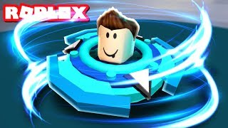 TURNING INTO A BEYBLADE IN ROBLOX