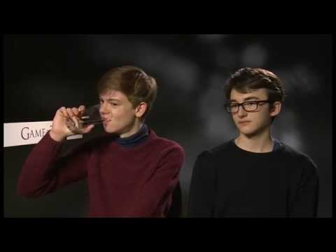 HBO Asia | Game of Thrones S4 - Interview with Isaac Hempstead Wright & Thomas Brodie Sangster