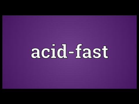 Header of acid-fast