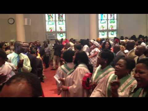 Praises With Eld Mireku   10 21 12 video