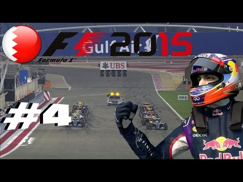 F1 2015 Daniel Ricciardo Career #4 BAHRAIN