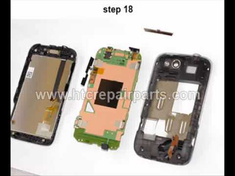 Self Disassembly Repair Manuel for HTC Wildfire S, Marvel, A510E