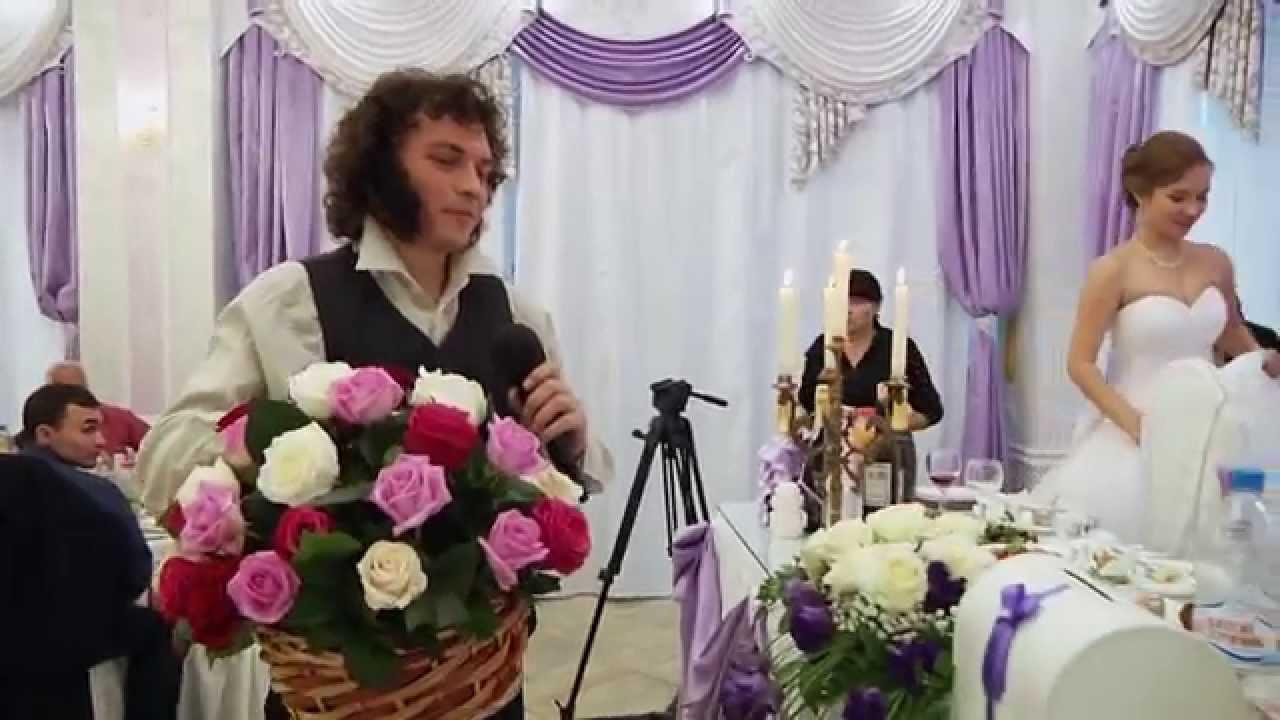 Театральное поздравления на свадьбу 854