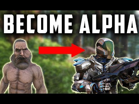 Ark - How to BECOME the ALPHA?? [Tips]