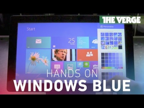 Windows Blue hands-on preview