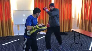 Bektas Emirhanoglu & Gokhan Turker Before Fightday for cut weight Training