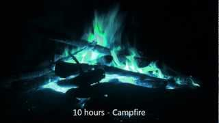 10 Hours Campfire - Relaxing Ambient Sounds