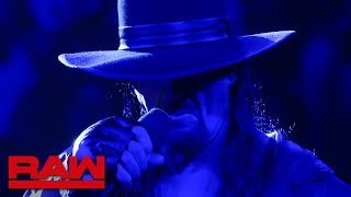 Undertaker speaks after Raw goes off the air: Raw Exclusive, June 3, 2019