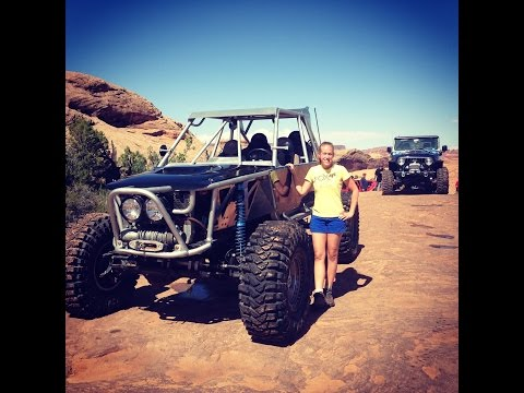 First time wheeling in Moab with Outlaw Jeep Tours