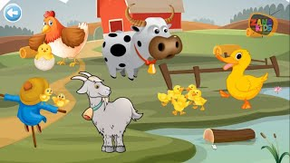 Animals Puzzle For Kids - Gameplay Jigsaw Game Learn Animal (#7)