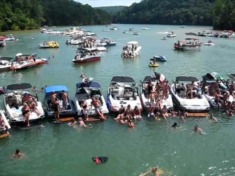 Norris Lake, TN - Boat Party 2009