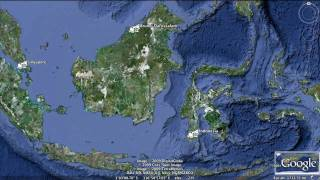 Google Earth Hero_ BOS, Borneo rain forest