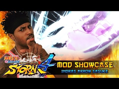 Indra's Arrow Sasuke Uchiha Enhanced Perfect Susanoo!!! Naruto Shippuden Ultimate Ninja Storm 4 Mods thumbnail