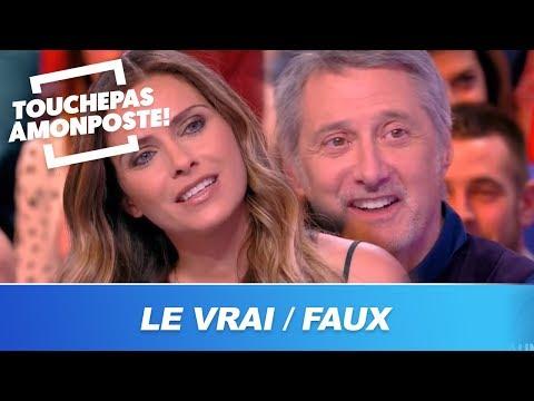 Clara Morgane et Antoine de Caunes : le vrai / faux des invités