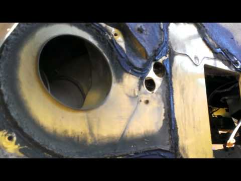 1983 Chevy truck heater core replacement