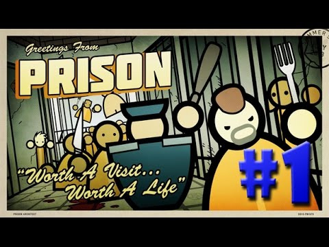 Prison Architect - A MAIOR PRISÃO DE TODAS!!! #1 (Gameplay / PC / PTBR) HD