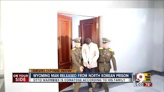 Wyoming man Otto Warmbier released from North Korean prison