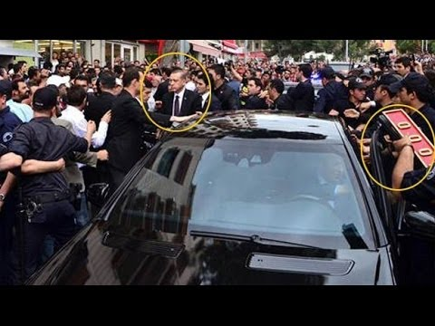 RAW VIDEO: Turkish PM Attacked By Mob Over Turkey Coal Mine Explosion
