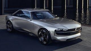 Musique pub Peugeot e-Legend Concept