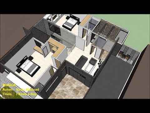 Planos gratis casa moderna minimalista parte 1