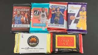 Card Shop Haul From Premier Sports Cards! I Pulled An Auto! New & Old Basketball+ Panini Golden Age
