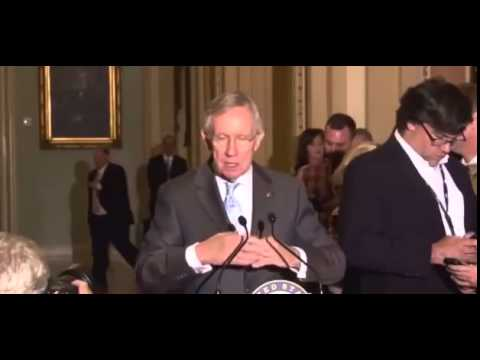 Crazy Harry Reid Claims 'The Border is Secure'