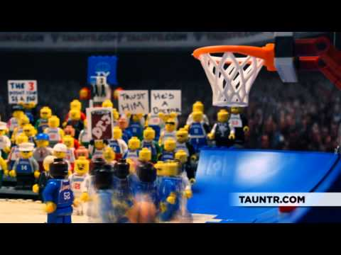 5 Greatest NBA Finals Moments Legoized