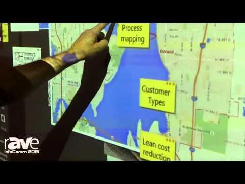 InfoComm 2015: Nureva Demonstrates Span Ideation System on 20-Foot Canvas