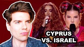 CYPRUS VS  ISRAEL - EUROVISION 2018 REACTION WINNER FOR ME