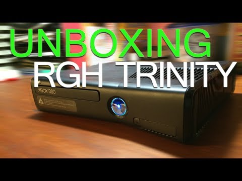 Unboxing RGH Trinity Xbox 360 Slim  from GSC Mods