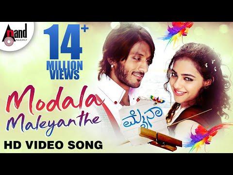 Mynaa | Modala Male (Official Video) | Sonu Nigam | Shreya Ghoshal  | Kannada HD Song