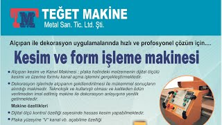 Alçı Panel Kesim Makinesi
