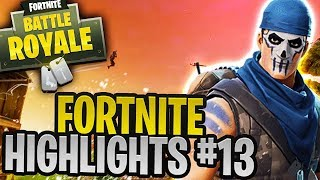 MOST RIDICULOUS FORTNITE MOMENTS... (Best Fortnite Highlights #13)