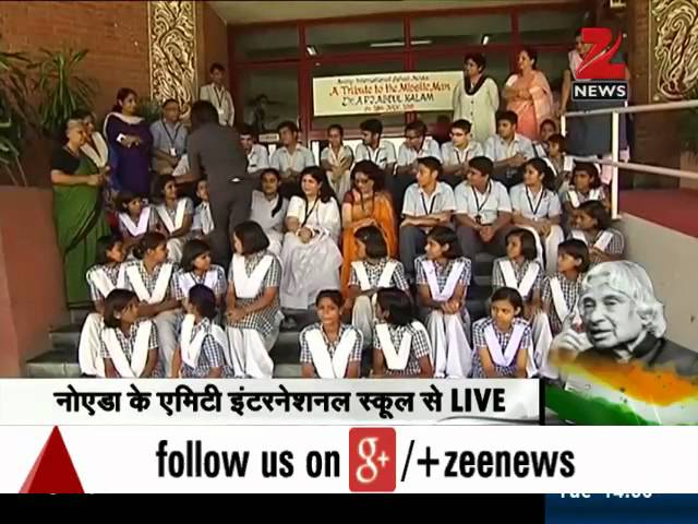 To Sir, with Love: School kids pay tributes to Dr Kalam