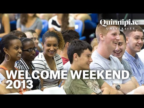 Quinnipiac University Welcome Weekend 2013