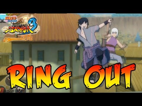 Naruto Shippuden Ultimate Ninja Storm 3 - X360 / PS3 - Ring out and Arena Interactions
