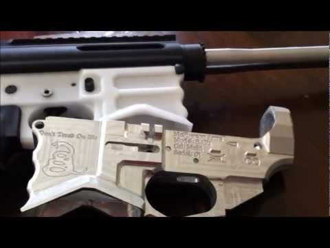 CNC Milling an AR-15 From Scratch: It works!