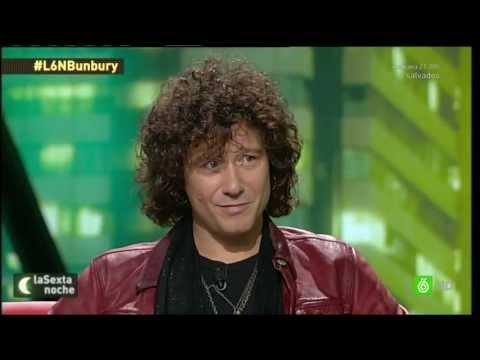Entrevista a Bunbury (La Sexta Noche)  26/10/2013