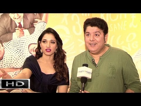 Sajid Khan - Tamannaah Bhatia Exclusive On 'Humshakals' Part 1
