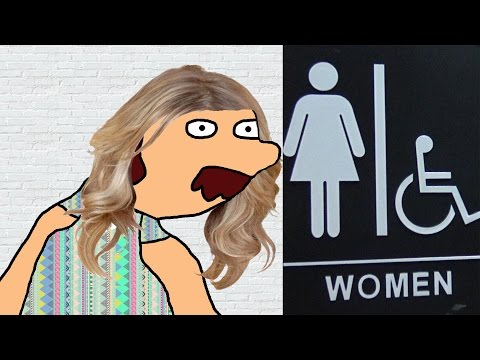 Transgender in Women's Bathroom (Social Experiment) (Parody)