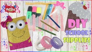 School Supplies DIY Compilation | How To Make Sparkly School Supplies