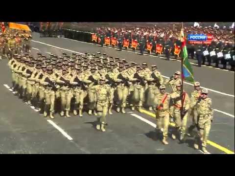 Военные, армейские песни - Парад победы