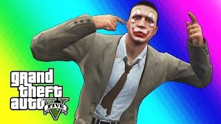 GTA 5 Online Funny Moments - Clown Salesman Rage!
