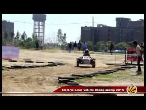 Electric solar vehicle championship- 2014