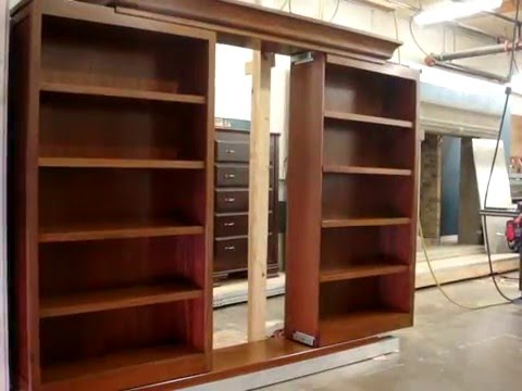 A Bookcase That Opens Like in Scooby Doo - Watch that Switch!